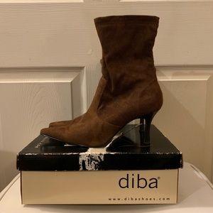 Diba Brown Suede Shoes